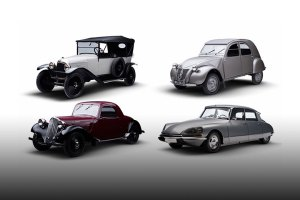 Citroën UK classic lineup (feature)
