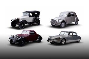 Citroën UK classic lineup (feature)