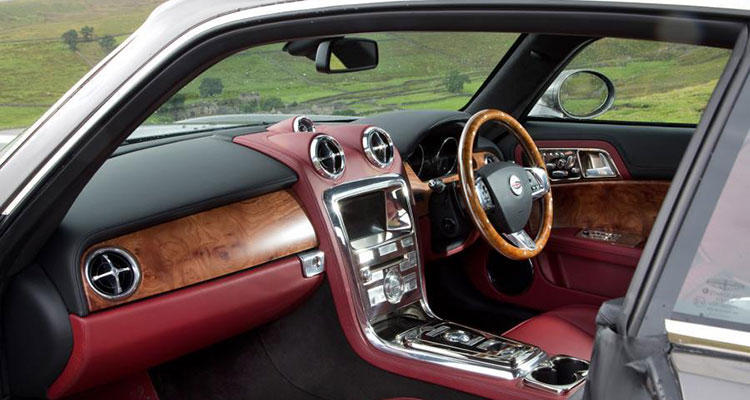 David Brown Speedback GT interior 1
