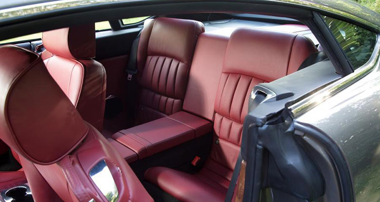 David Brown Speedback GT interior 2