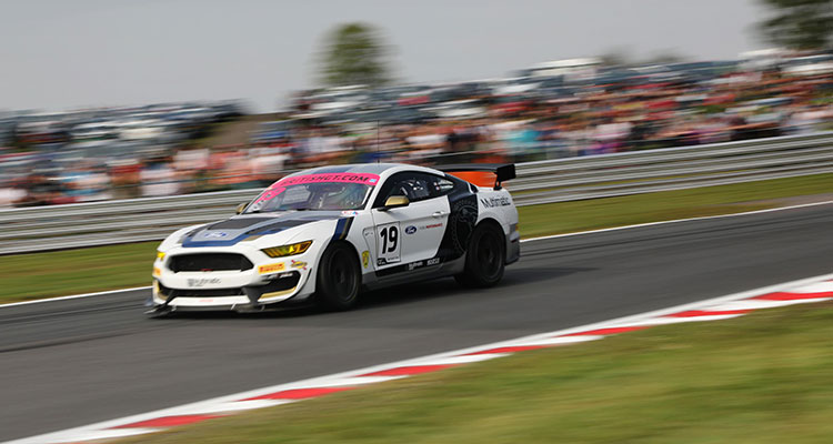 Ford Mustang GT4 British GT Chris Hoy (3)