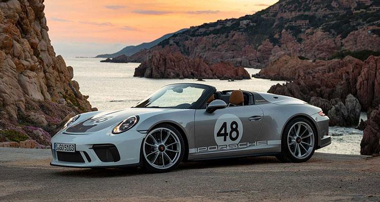 Porsche 911 Speedster 991 heritage pack side 2