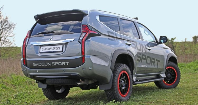 Shogun Sport SVP rear