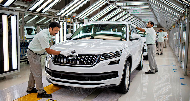 Skoda Kodiaq production line 2