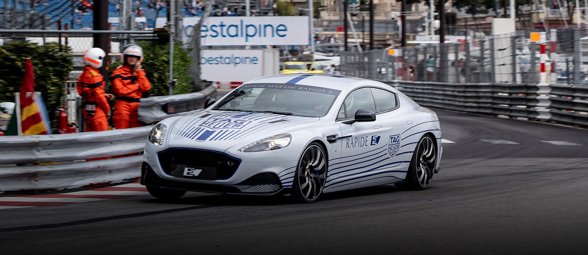 Aston Martin Rapide E feature
