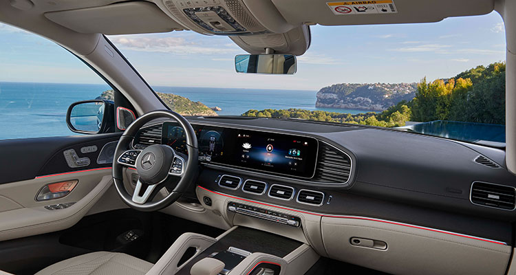 Mercedes-Benz GLS 400 d interior
