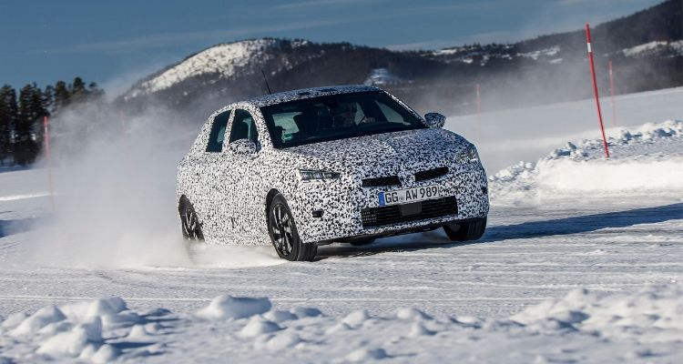 New Vauxhall Corsa weather testing (1)