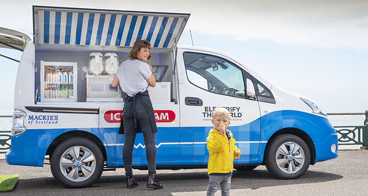 Nissan Emission-Free Ice Cream Van (2)