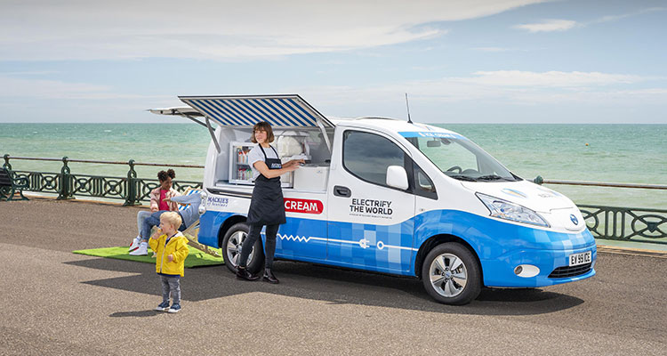 Nissan Emission-Free Ice Cream Van (5)