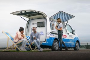 Nissan Emission-Free Ice Cream Van (feature)