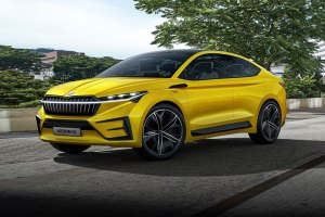 Skoda VISION iV SUV Coupe