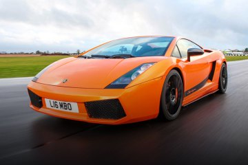 Lamborghini trackday experience (feature)