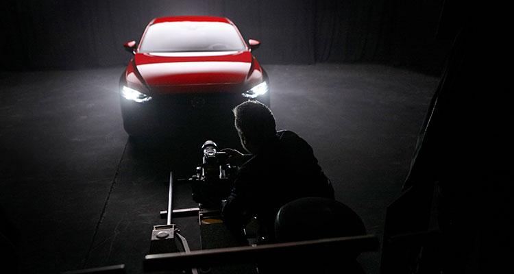 Rankin Mazda3 BTS London shoot (1)