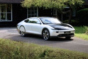 The Solar Powered Lightyear One Electric Car (feature)