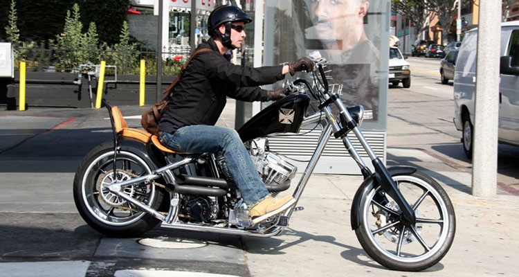 West Coast Choppers El Diablo Keanu Reeves (3)
