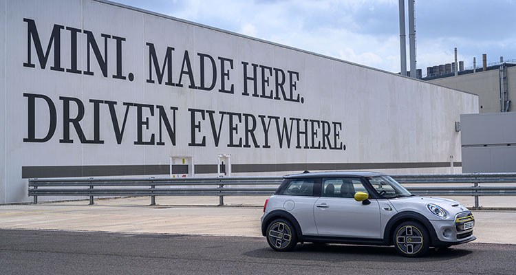 all-electric MINI Cooper SE