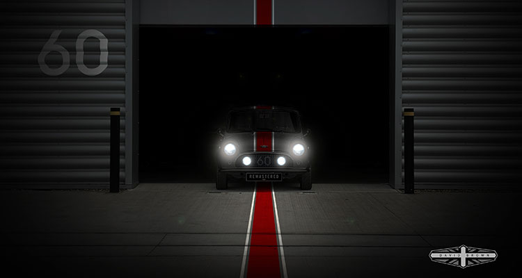 David Brown Automotive teases limited edition performance Mini Remastered (2)