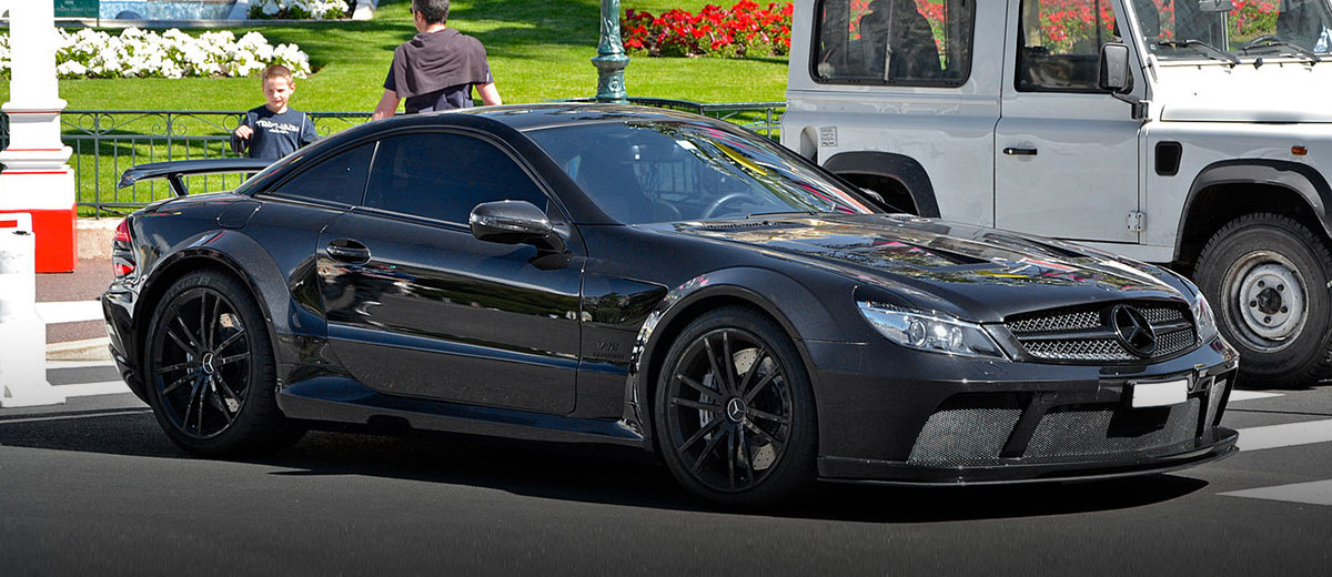 Mercedes-Benz SL65 AMG Black Series - Replica cars (feature)