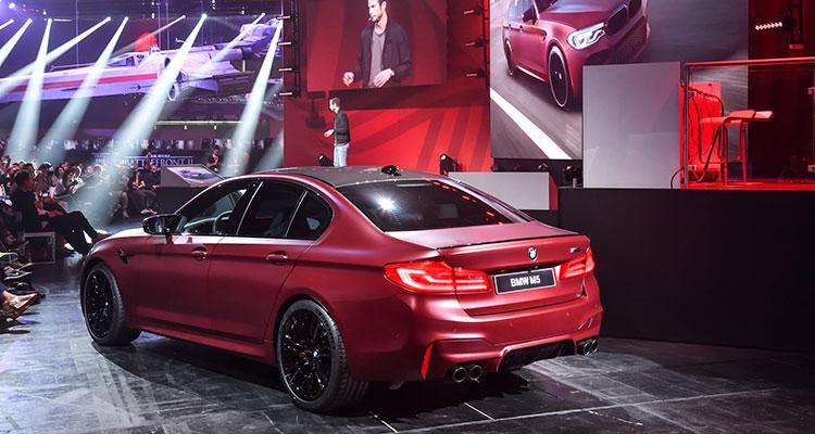 BMW - Frozen Dark Red Metallic