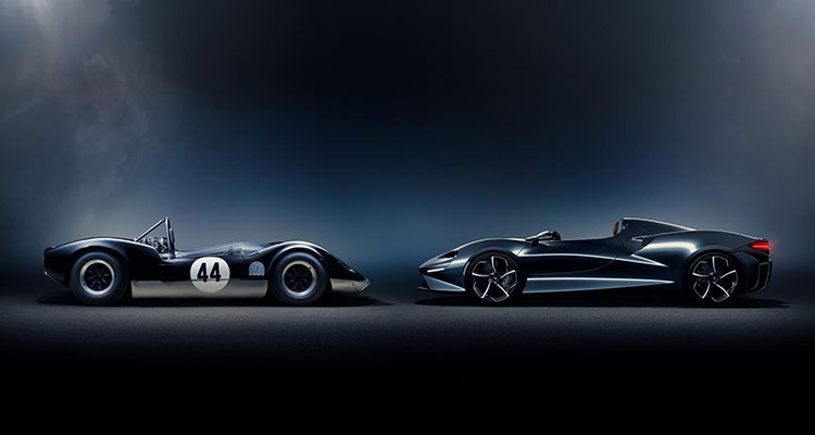 McLaren Elva open-top roadster