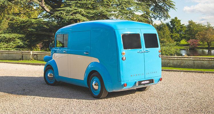 Retro Electric Morris JE Van