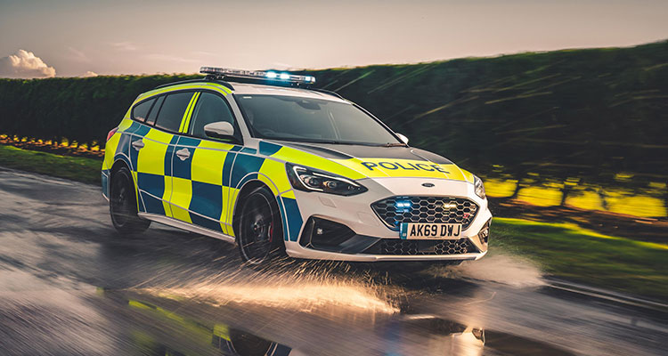 New Police Ford Focus ST Estate