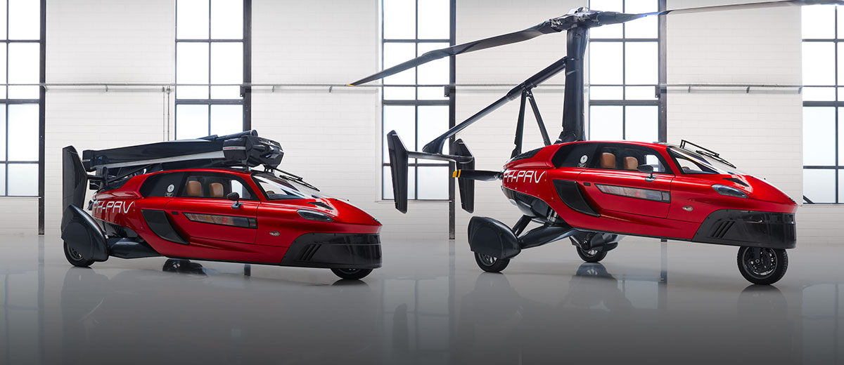 PAL-V Liberty Flying Car Fullsize (feature)