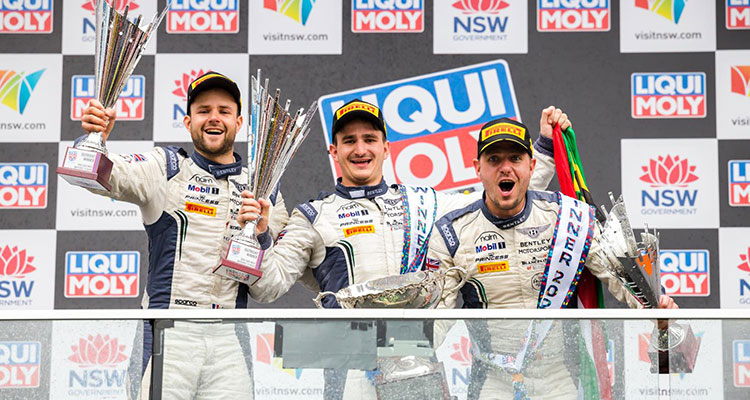 Continental GT Takes Win At Bathurst 12 Hour