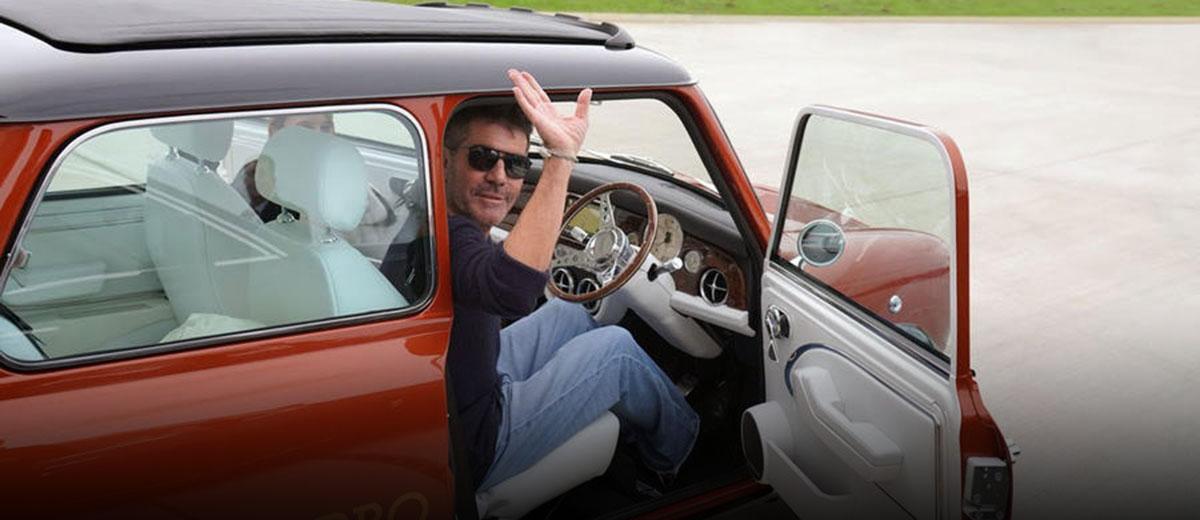 Simon Cowell's James Bond Lotus Esprit Inspired Mini