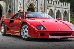 Best Smiling Cars Ever Made - Ferrari F40