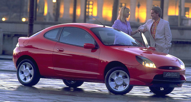 Ford Puma propeller wheels