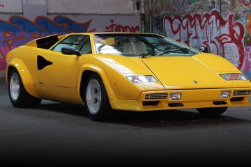 The Lamborghini Countach
