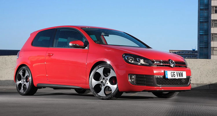 VW Golf wheels