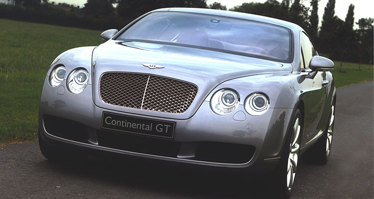Bentley Continental GT - Gordan Ramsay