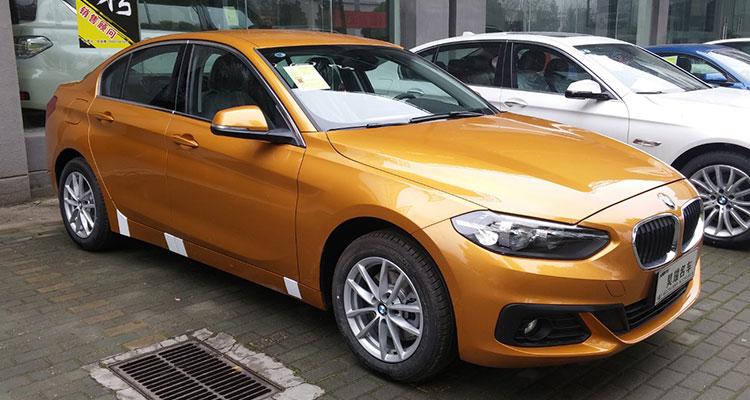 BMW 1 Series Saloon