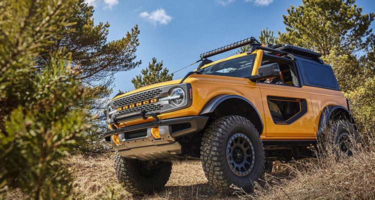 New Ford Bronco 2020