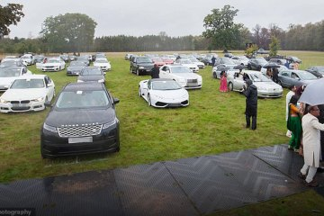 Couple Host Drive-In Wedding To Bypass 15-Person Limit