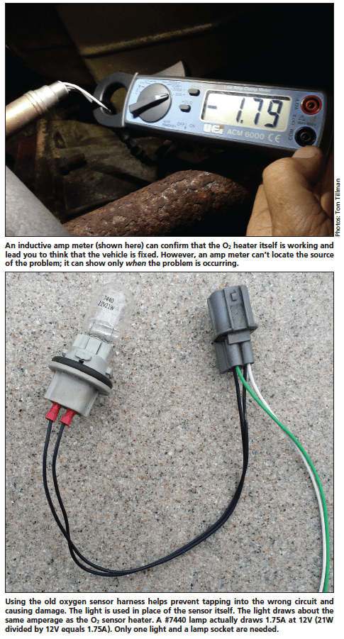 Bosch O2 Sensor Wiring : bosch, sensor, wiring, Diagnosing, Sensor, Heater, Circuit, Failures, MOTOR