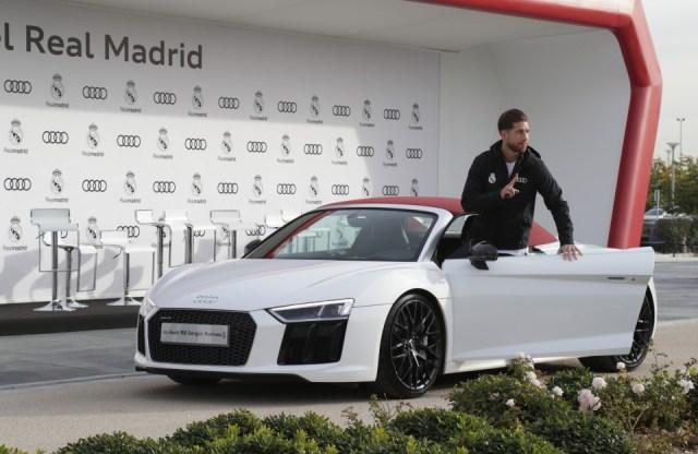 Sergio Ramos: Audi R8 Spyder