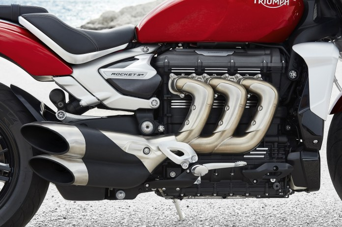 The Triumph Rocket 3 GT, in detail
