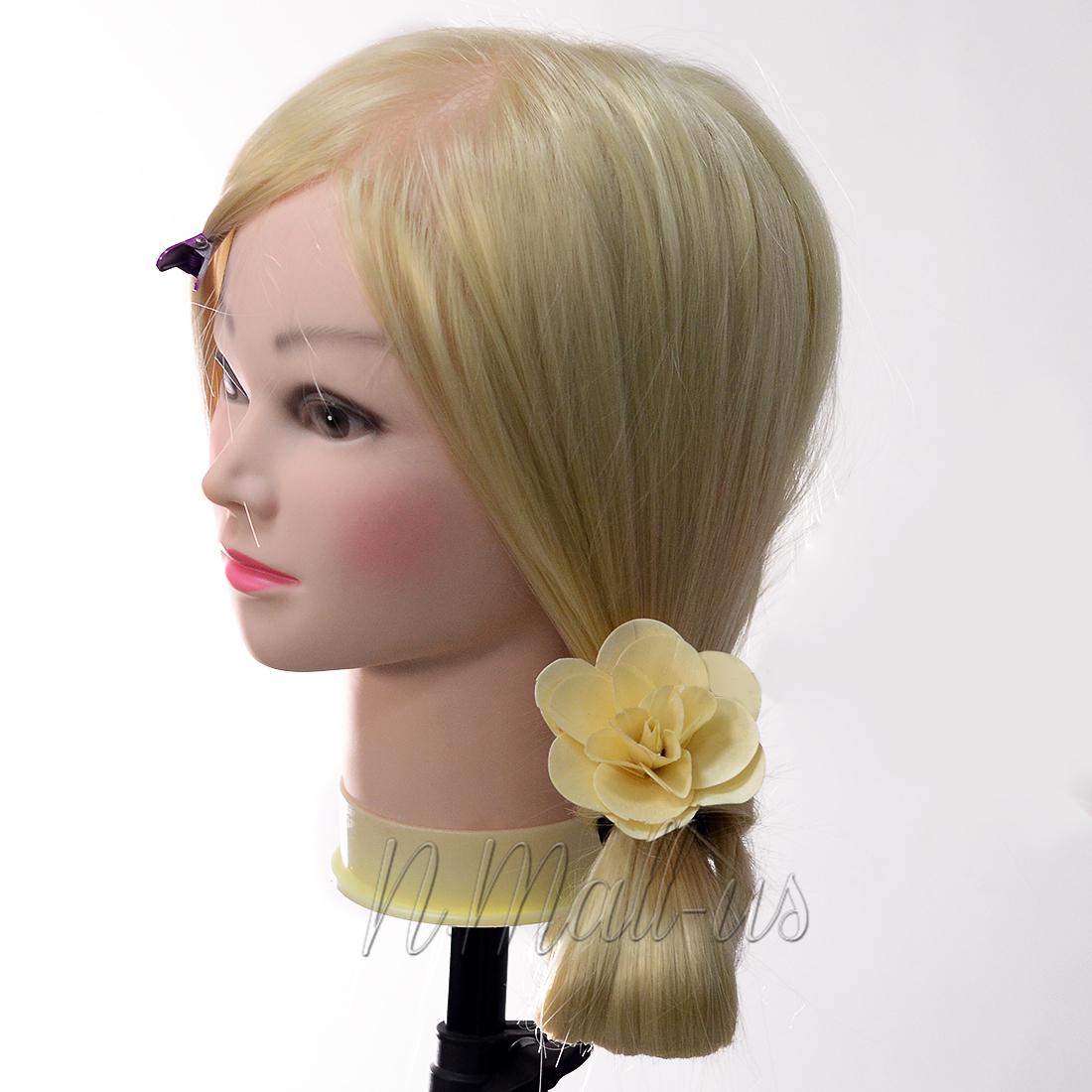 """Neu 40% Echthaar 26"""" 66cm Haarlänge Friseursalon"""