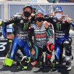 Podium Gran Premio de Andalucía 2020