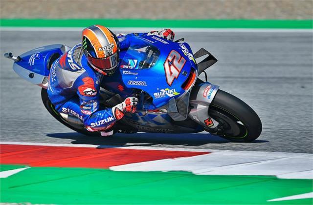 Álex Rins en el Gran Premio de Stiria