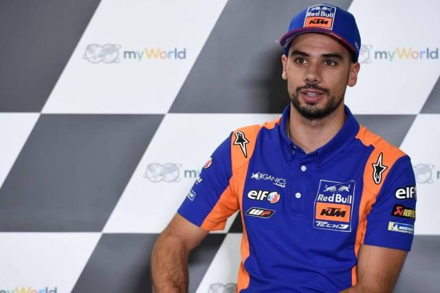 Miguel Oliveria en el Gran Premio de Austria 2020