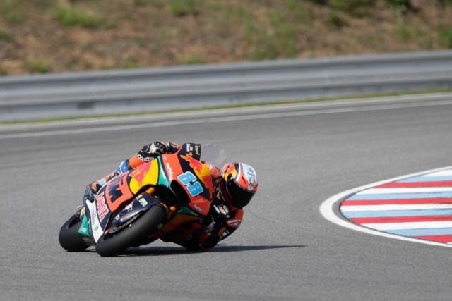 Jorge Martín gana su primera carrera de Moto2 en Austria