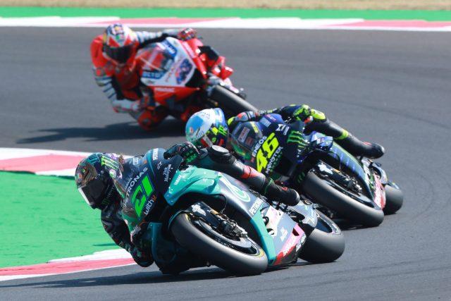 Morbidelli lidera el Gran Premio de San Marino en Misano