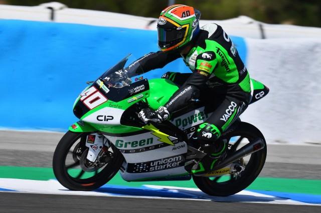 Primera victoria de Darryn Binder en Moto3.