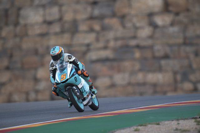 Jaume Masiá gana su primera carrera de 2020 en el Gran Premio de Aragón