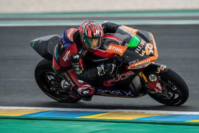 Jordi Torres gana la carrera de MotoE y se pone líder