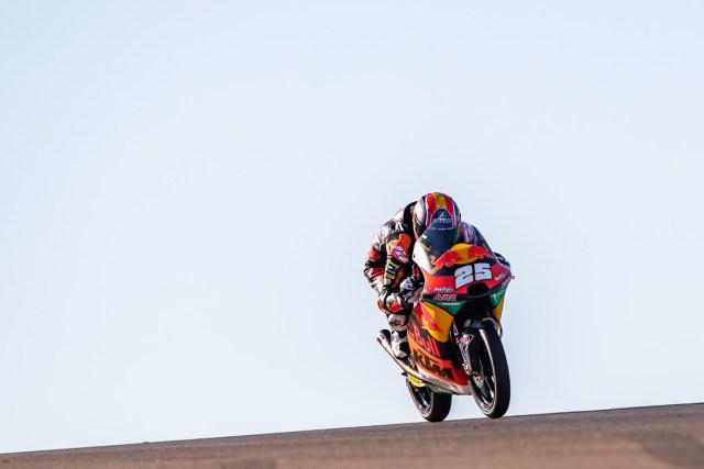 Raúl Fernández consigue su quinta pole en el Gran Premio de Teruel